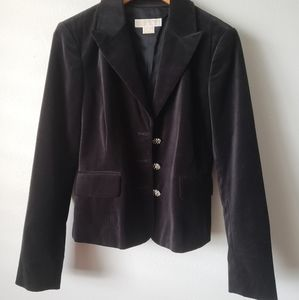 Michael Kors Black Blazer Jacket Size 8